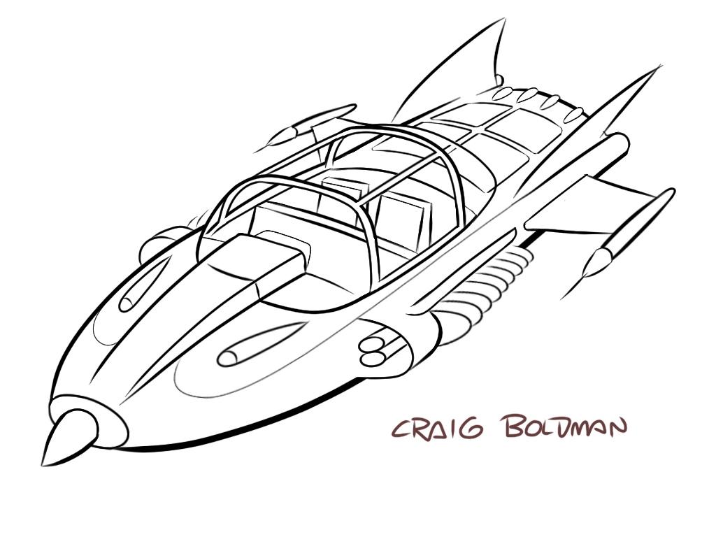 Supercar - WIP - Craig Boldman
